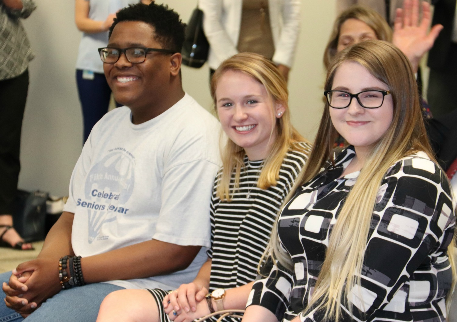 Students speaking during the signing ceremony included Isaiah McDaniel, Cassidy Robinson and Rylie Anderson.