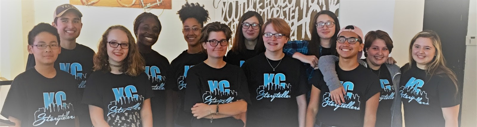 Students at the 2018 Stories for Justice Summer Writing Camp.