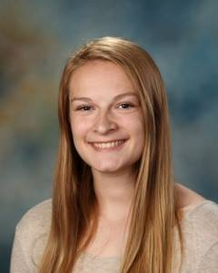 SCA Senior Sophie Schooley won the SCA Poetry out Loud competition and will participate in the Kansas City South Regional Competition.