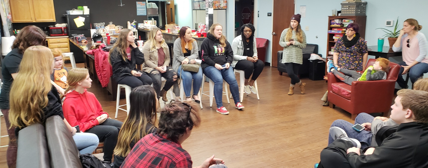 Pro Deo interns from UCM participate in a recent panel discussion.