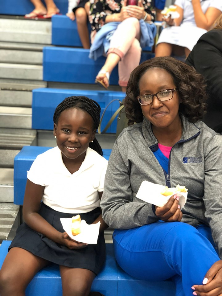 """Summit Christian Academy recently hosted their annual """"Morning with Mom"""" event. Mothers and mother figures were invited to share breakfast and some extra time with their students before the school day began. ( Photo courtesy Summit Christian Academy )"""