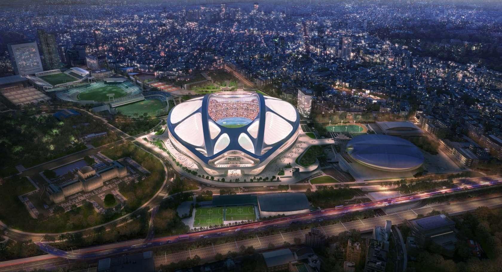 Tokyo National Stadium   by ZHA