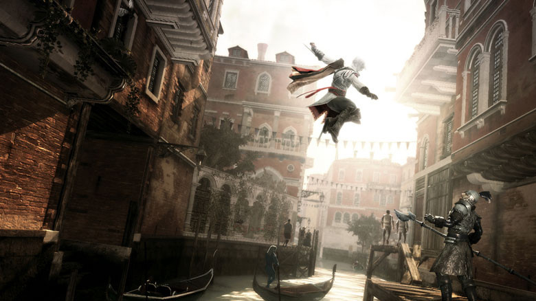 Welcome (sic) to Venecia. Image © Ubisoft Montreal