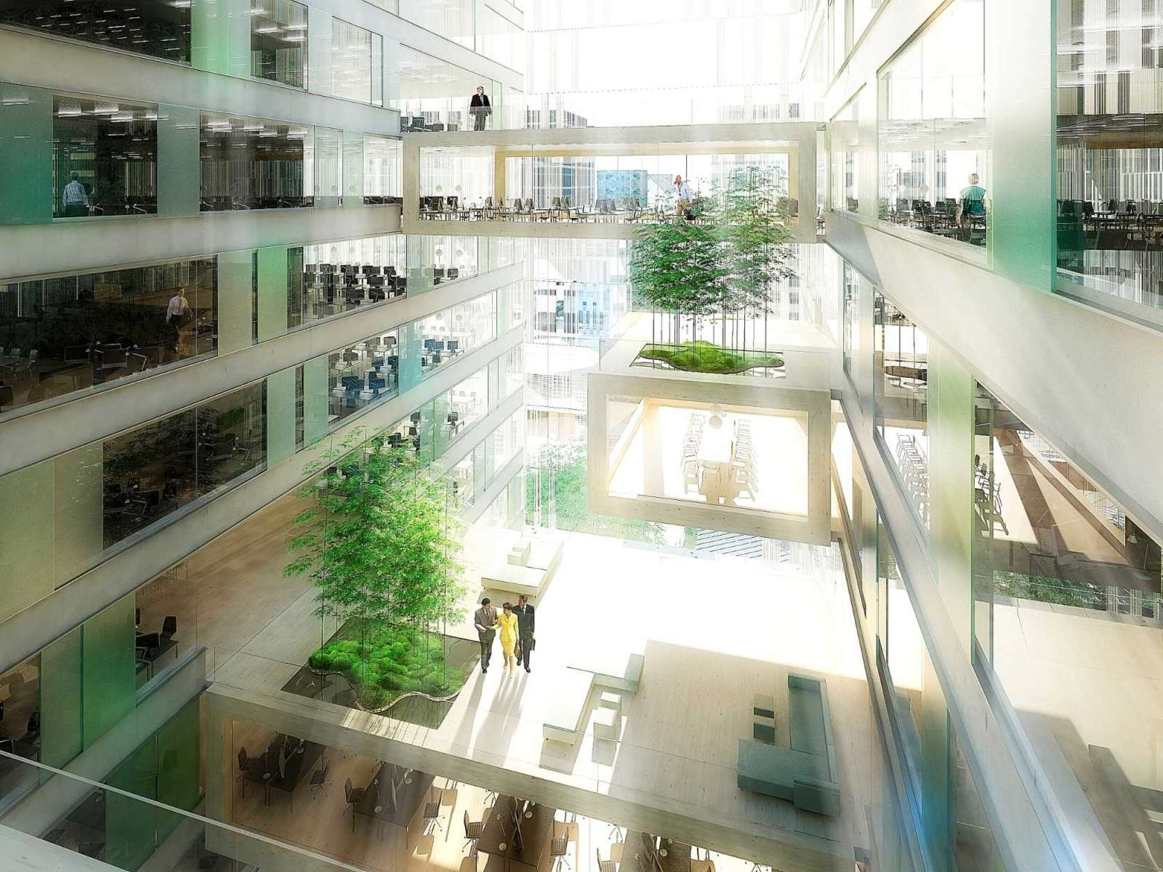 Green Valley by    Schmidt Hammer Lassen Architects
