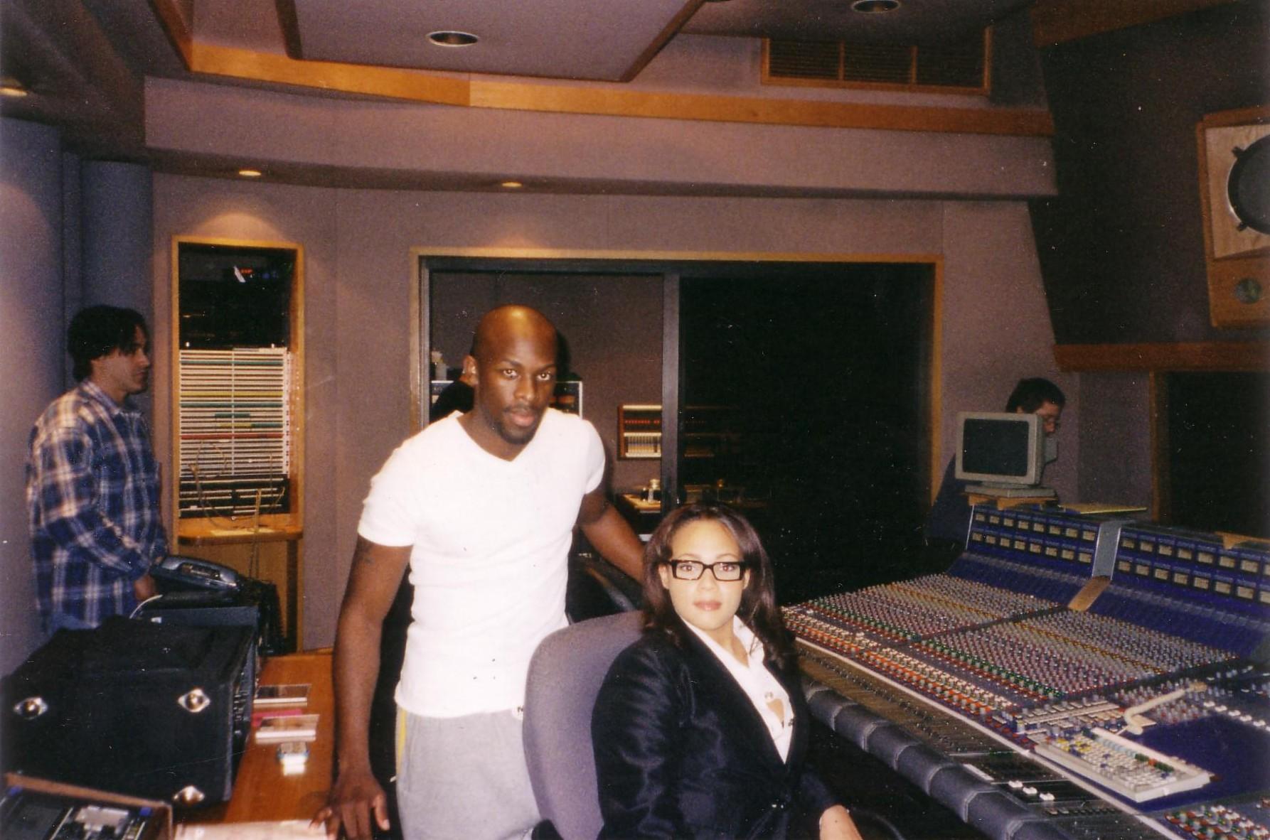 Shola and US R&B Star Joe