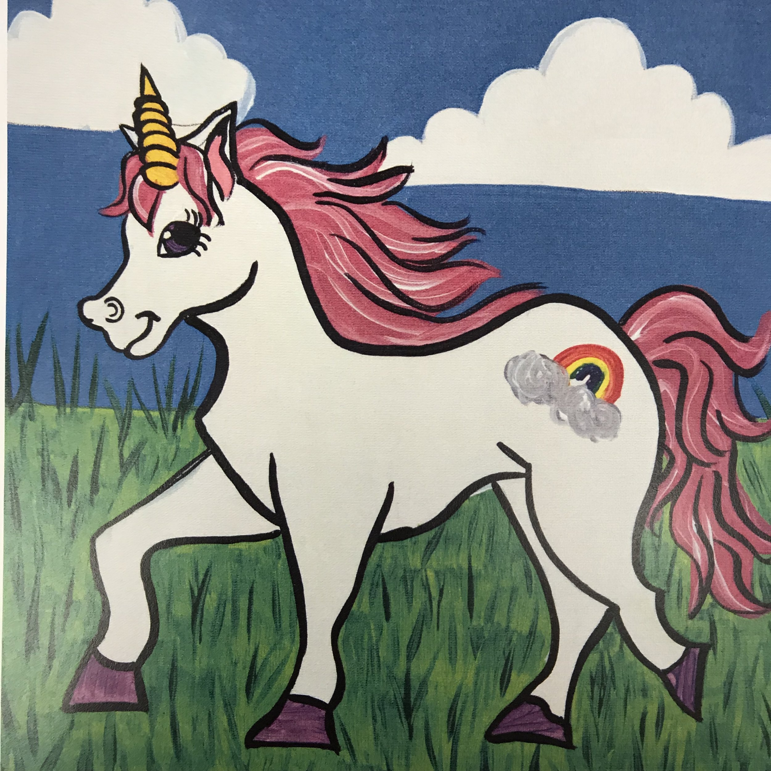Unicorn in the Field