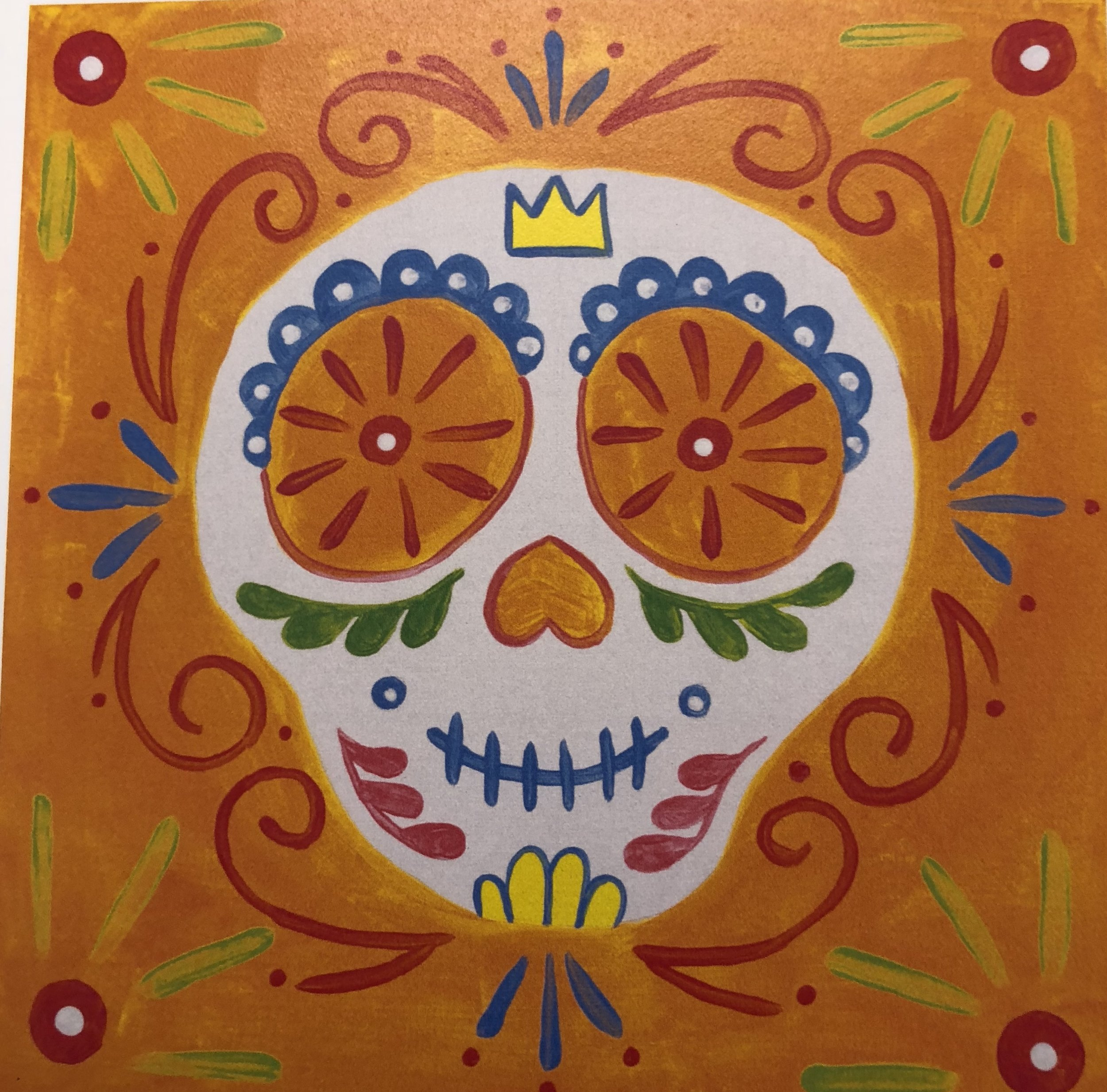 Junior Sugar Skull