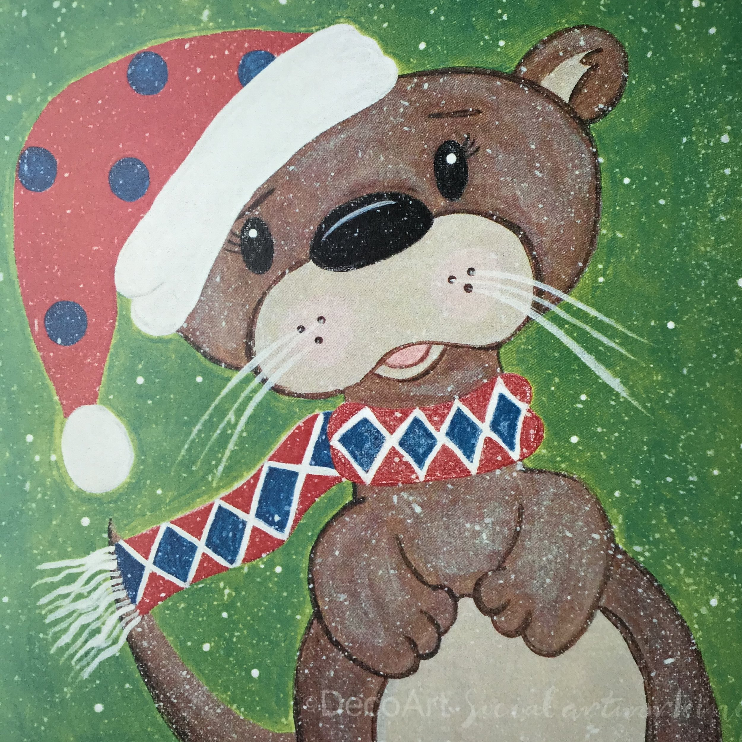 Winter Otter
