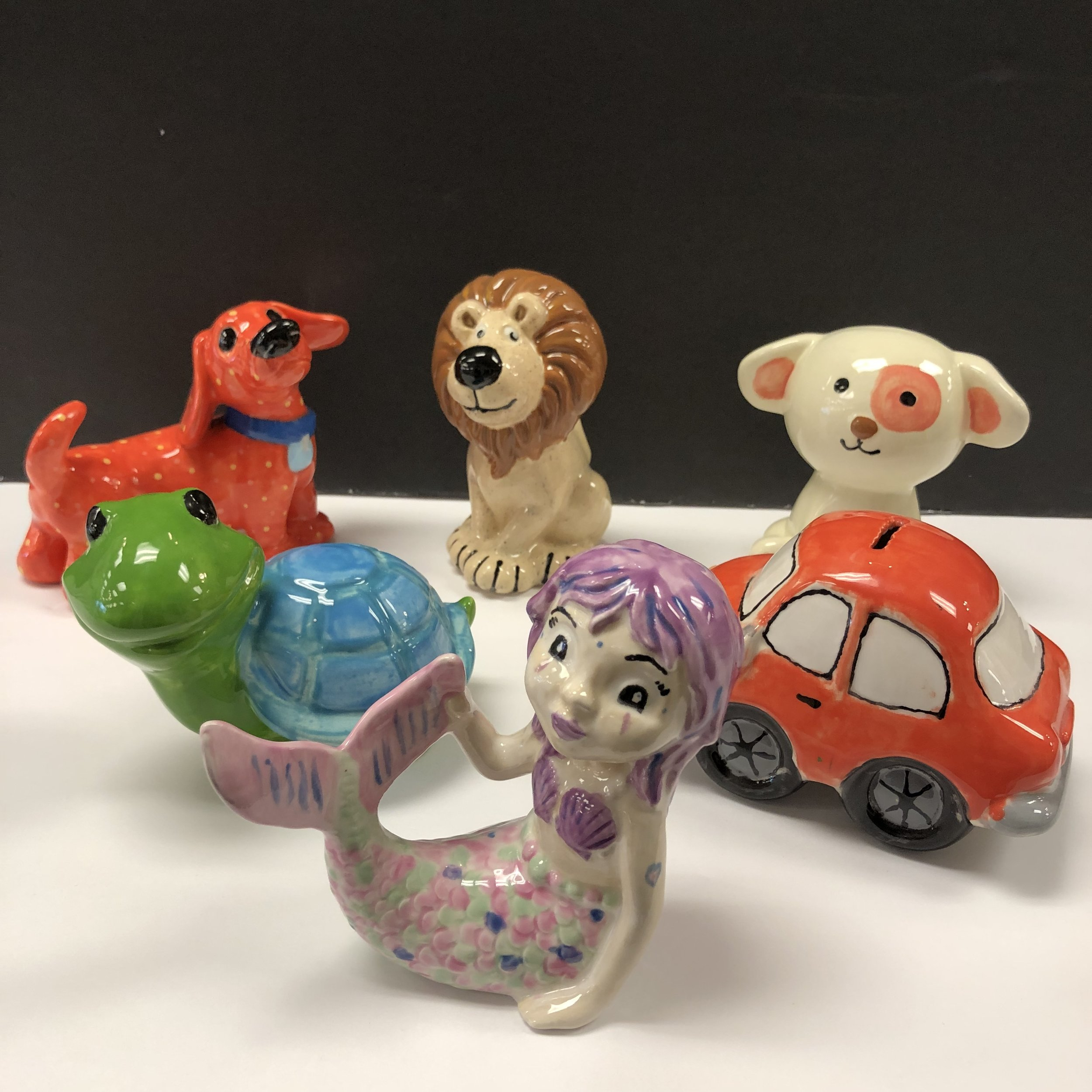 For Ages 5 to 7 - Pottery Party for 8