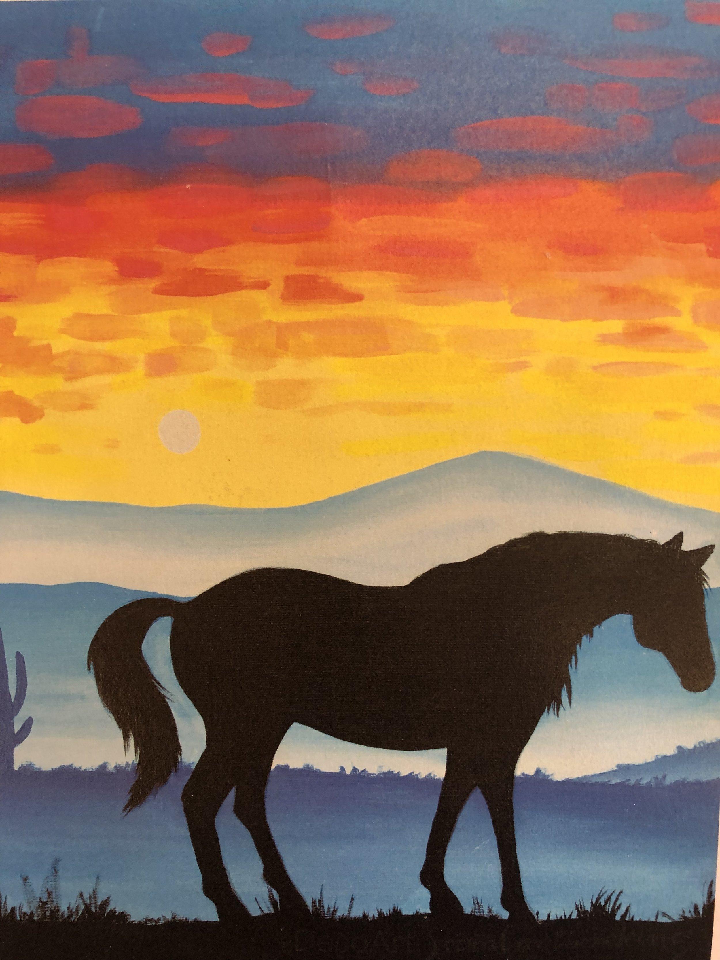 Desert Horses I