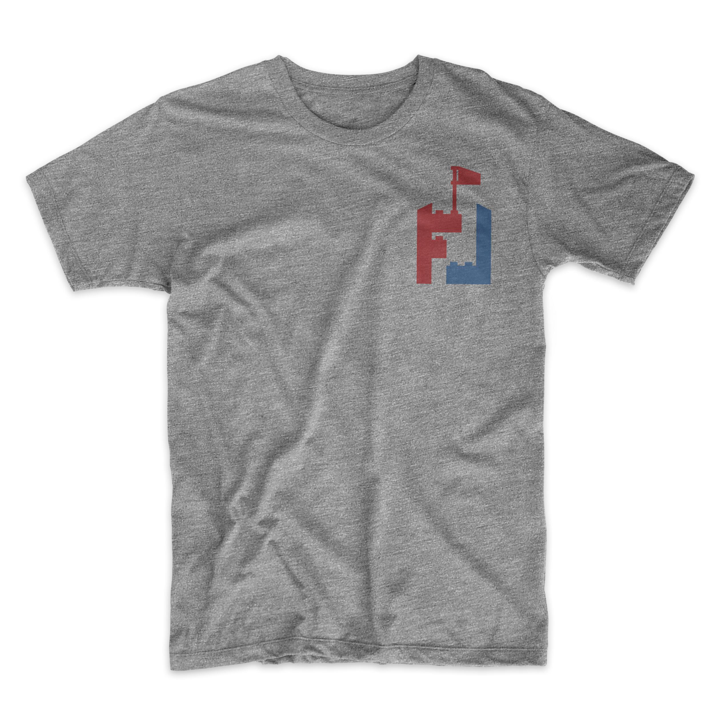 Front t-shirt mockup.