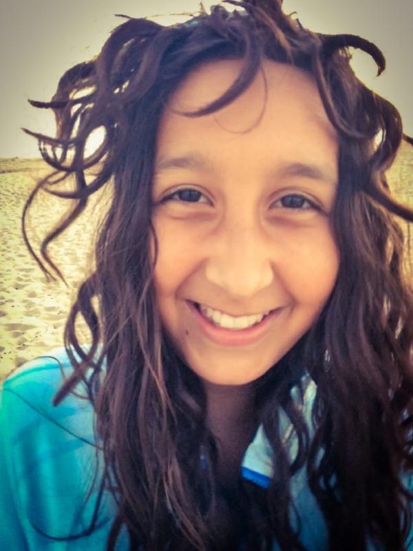 Anja's Crazy Beach Hair