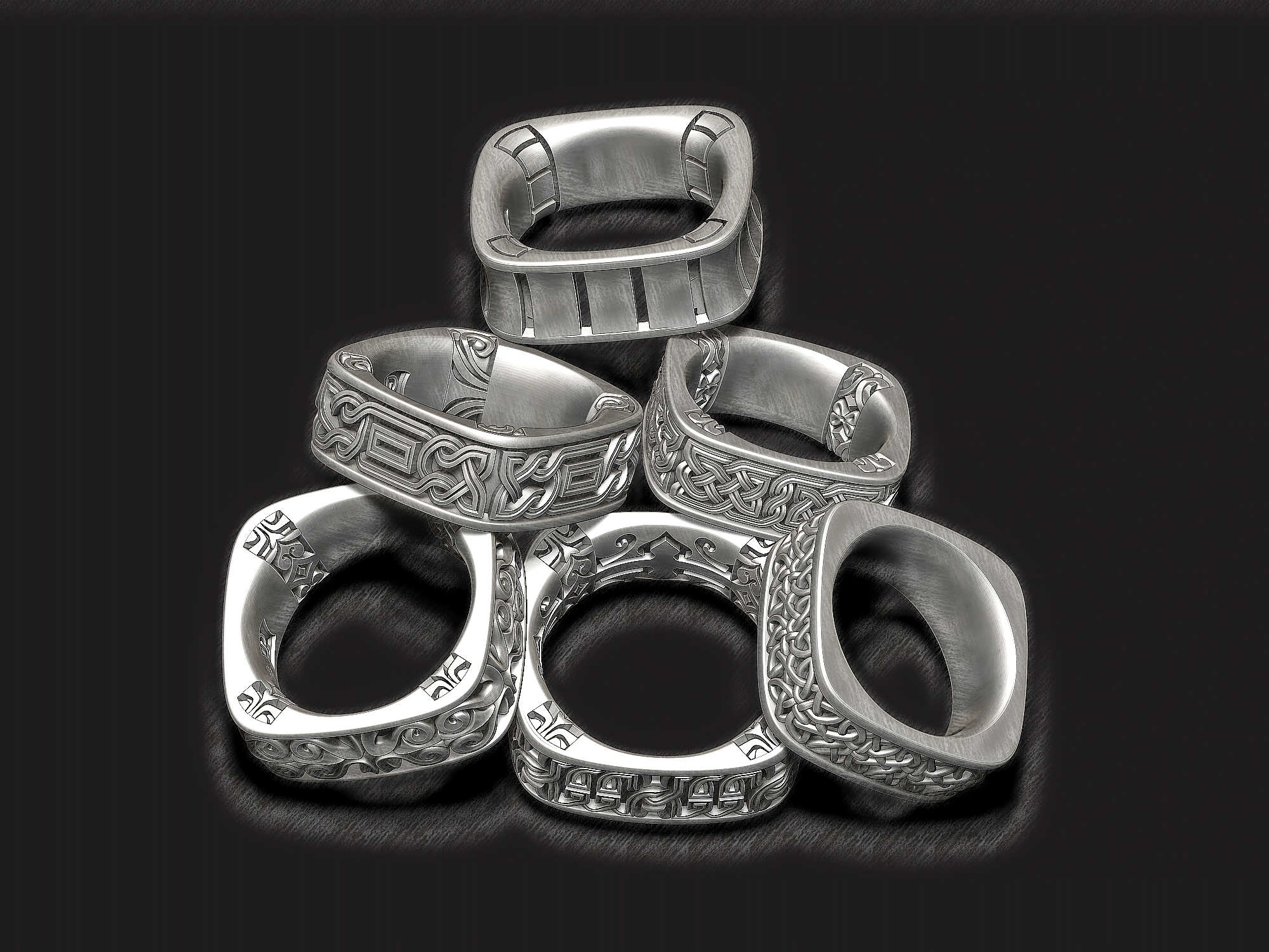 Examples of Square Rings