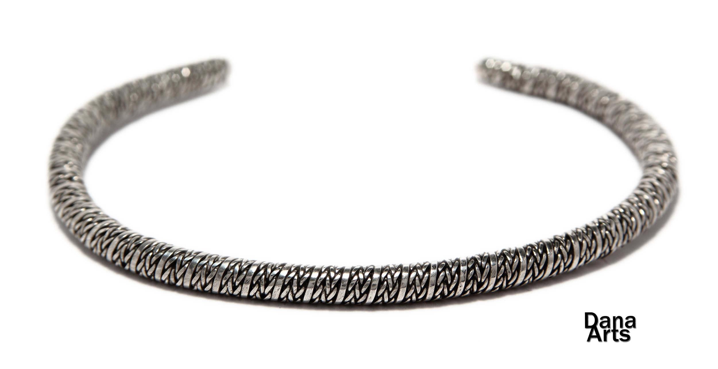 Handmade Solid Sterling Silver Bangle Bracelet