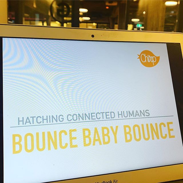 Well hey @wework ... let's bounce! 🎾 #resilience #startup #founders