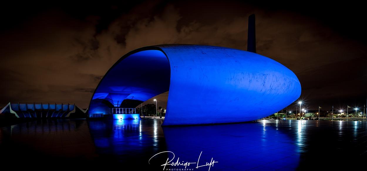 Blue Acustic Shell