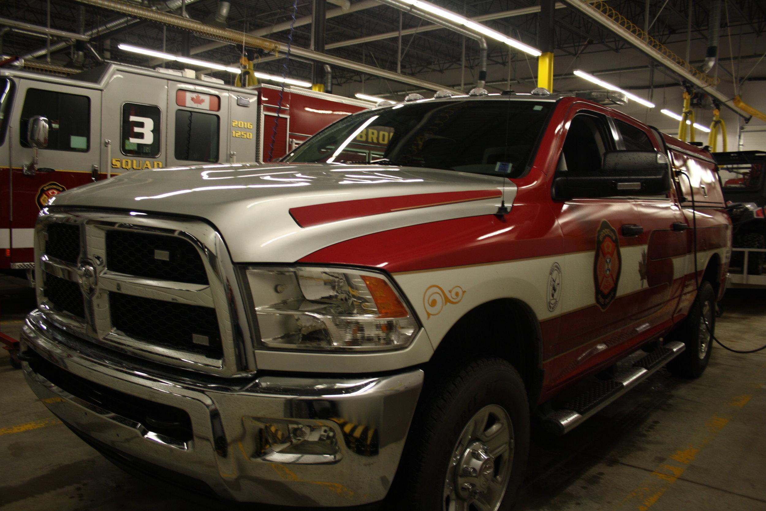 Rescue Seven is a 2015 Dodge Ram 3500 Four Wheel Drive.