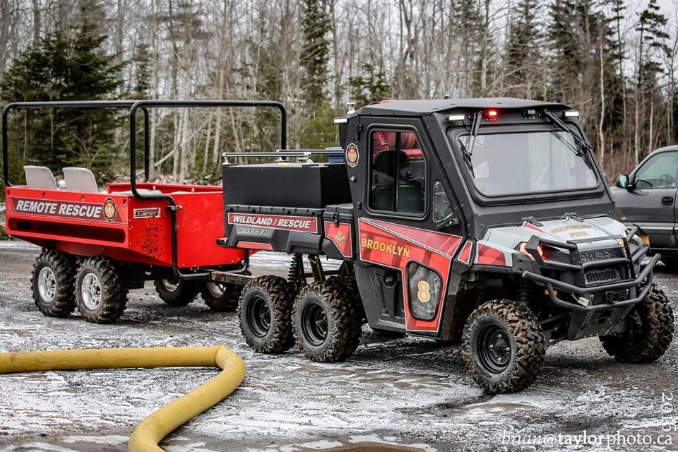 Remote Rescue Eight is a 2015 Polaris Ranger 6x6