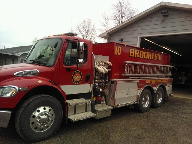 Tanker Ten is a 2015 Pierce/Frightliner, with a 840 Pump and carries 2400 Gallons of water.