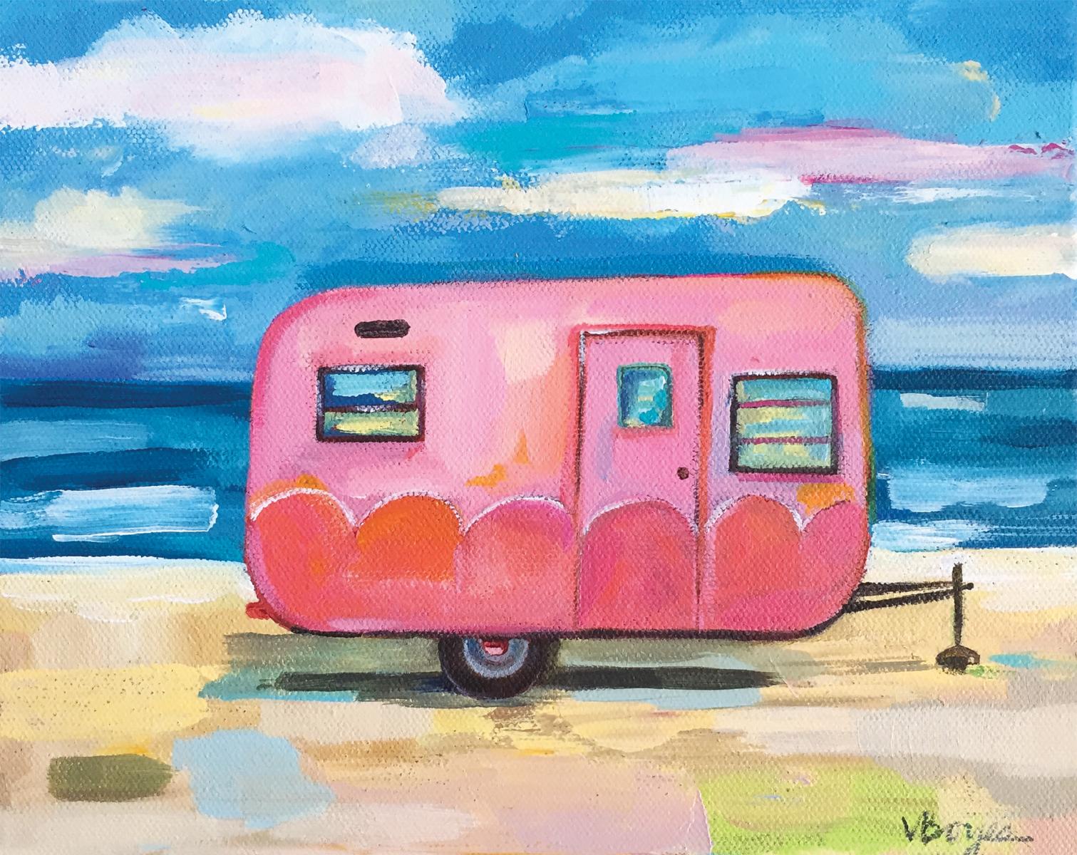 Pink Camper Four