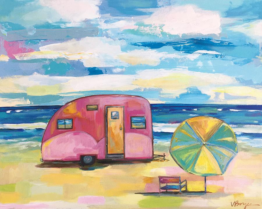Jen's Pink Camper