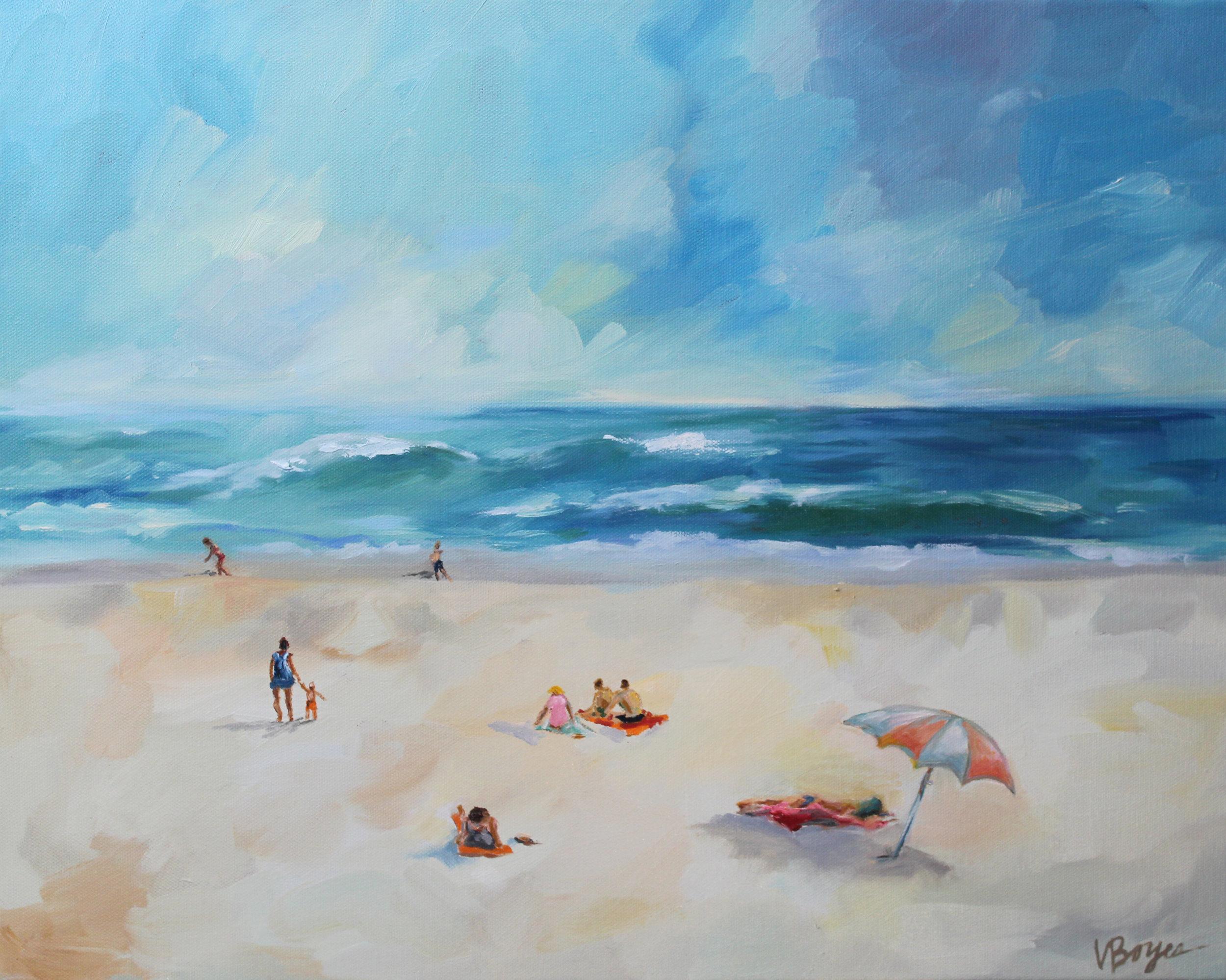 Warm & Sandy Beach