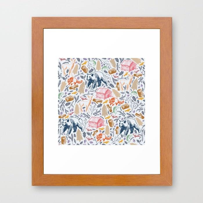rustic-pattern-nxa-framed-prints