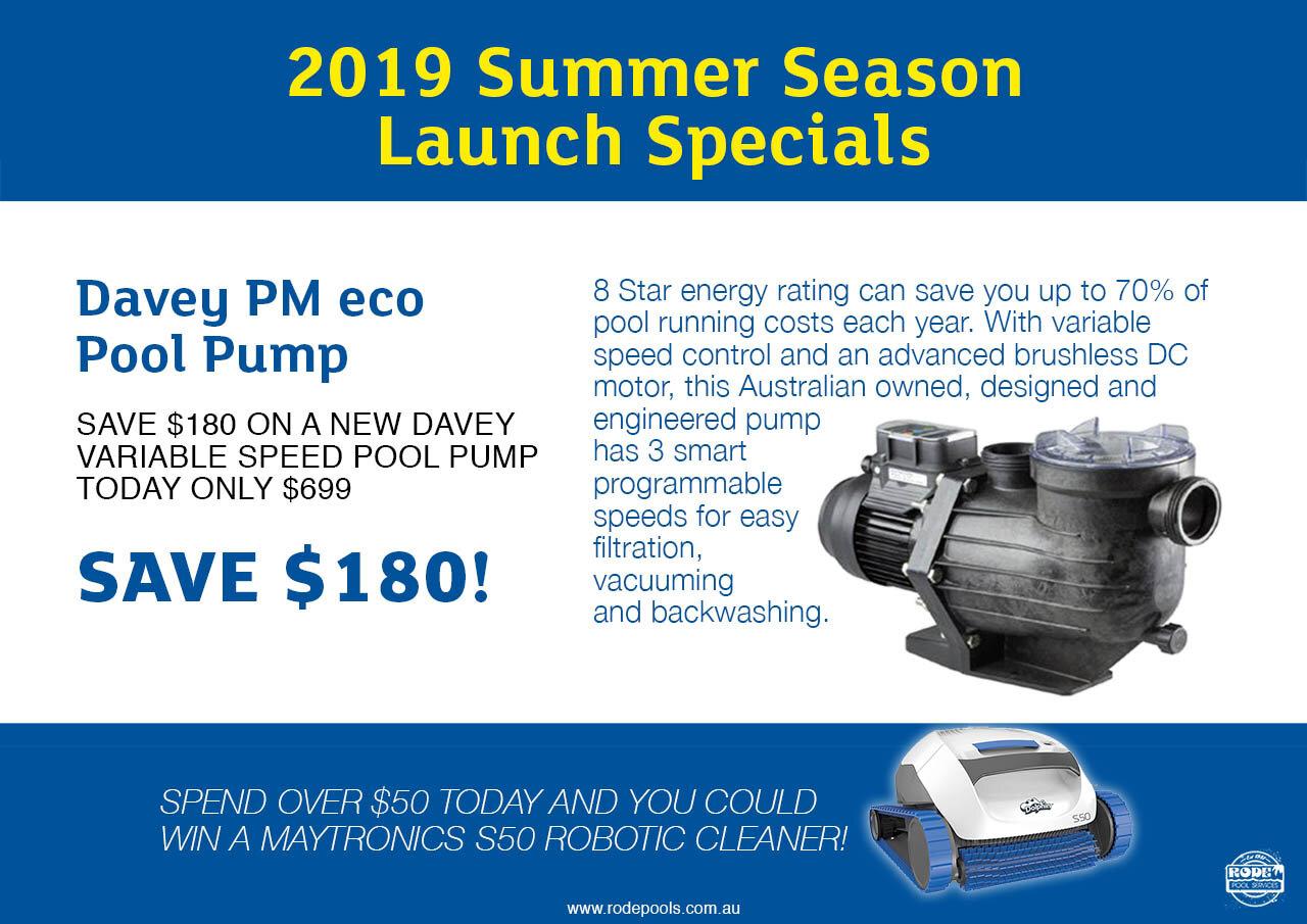 Davey PM Eco Pool Pump