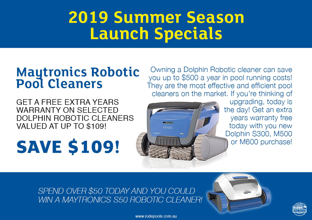 Maytronics Robotic Cleaners
