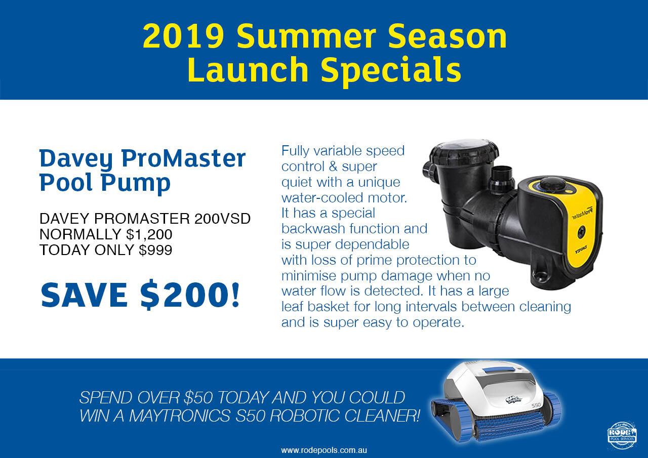 Davey Promaster Pool Pump