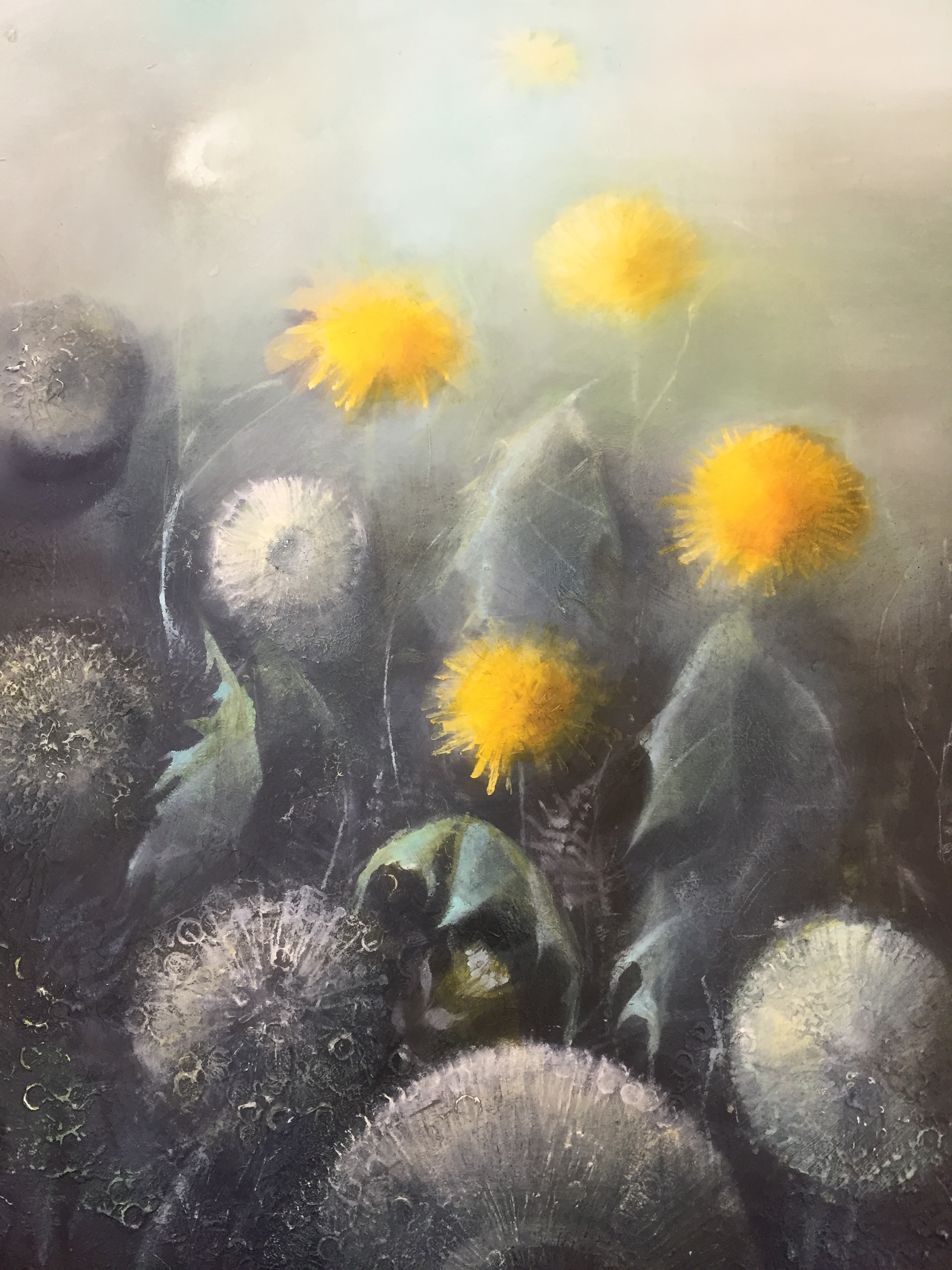 Breath, Oil on panel (sold)