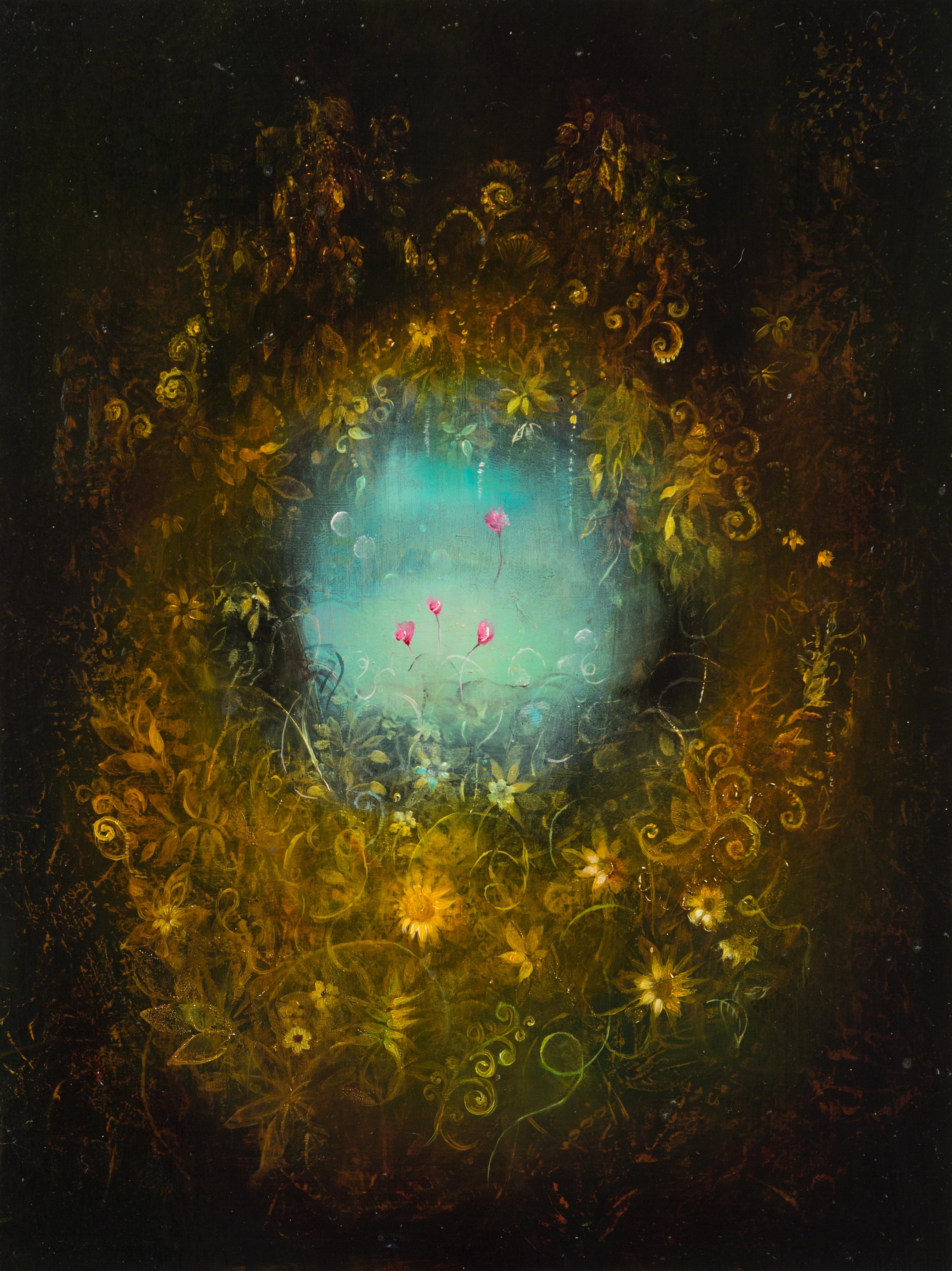 Dwell, Oil on panel, 9x7, 2017