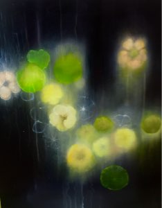 Now Lanterns, Oil on panel, (sold)