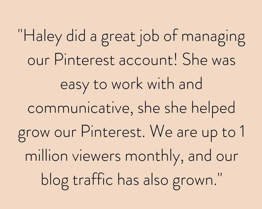 _She makes communication a breeze. Her witty captions brought a new life to our page, and the incredible custom stories took it to the next level. Loved working with her! (1).png