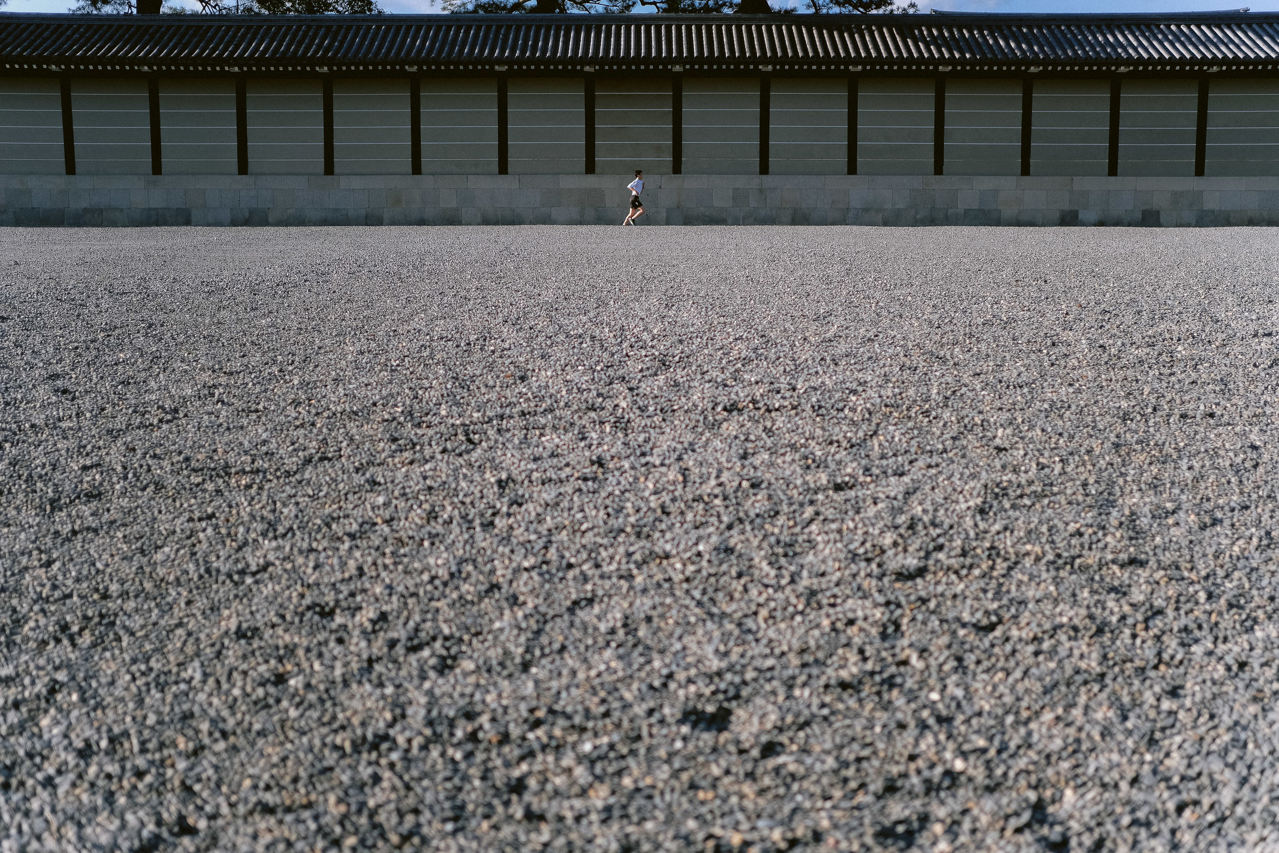 Kyoto Imperial Palace Grounds, Japan.