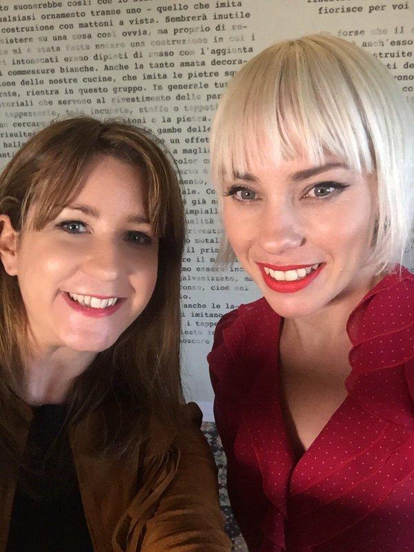 Danielle McGrane and Olympia, via Twitter