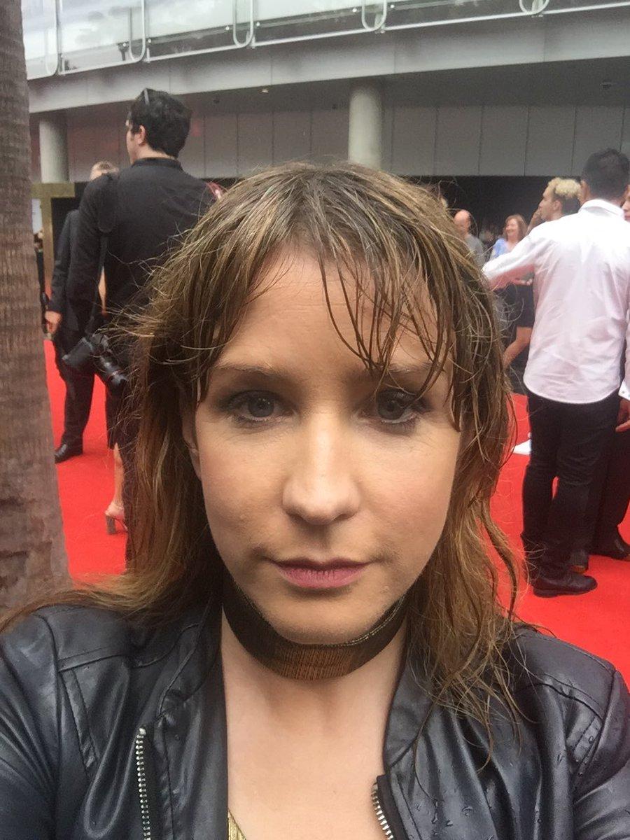 Danielle McGrane wet red carpet ARIAS.jpg
