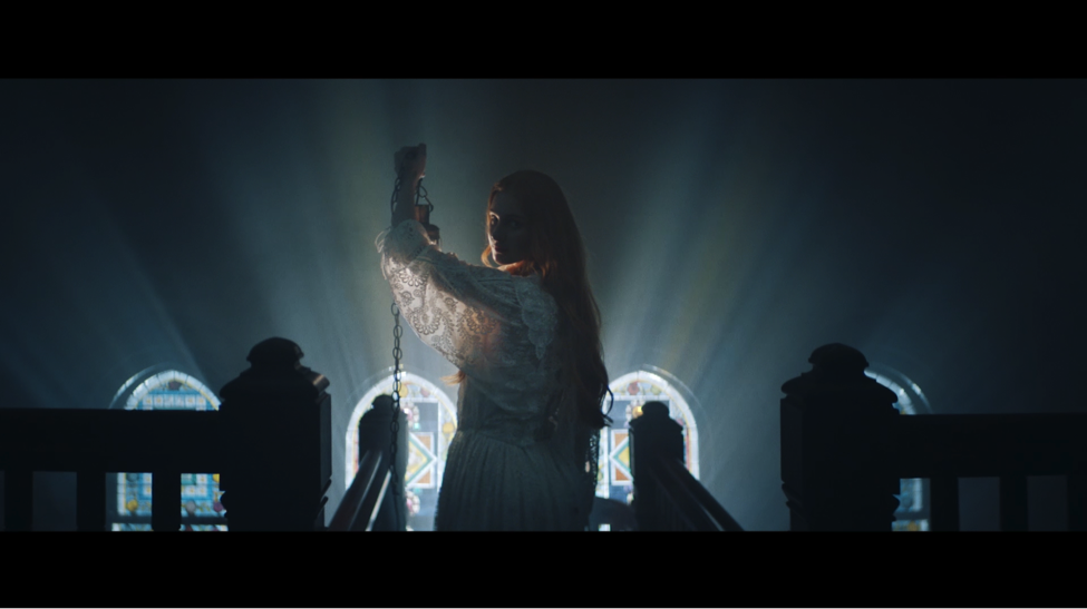 Vera Blue in her new video Private released today. Image supplied