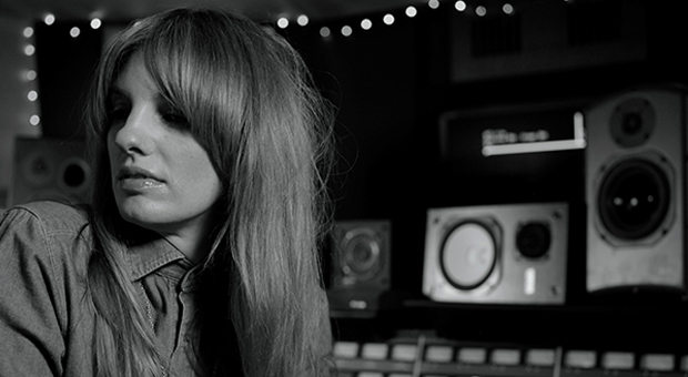 Catherine Marks in the studio. Image via M Magazine