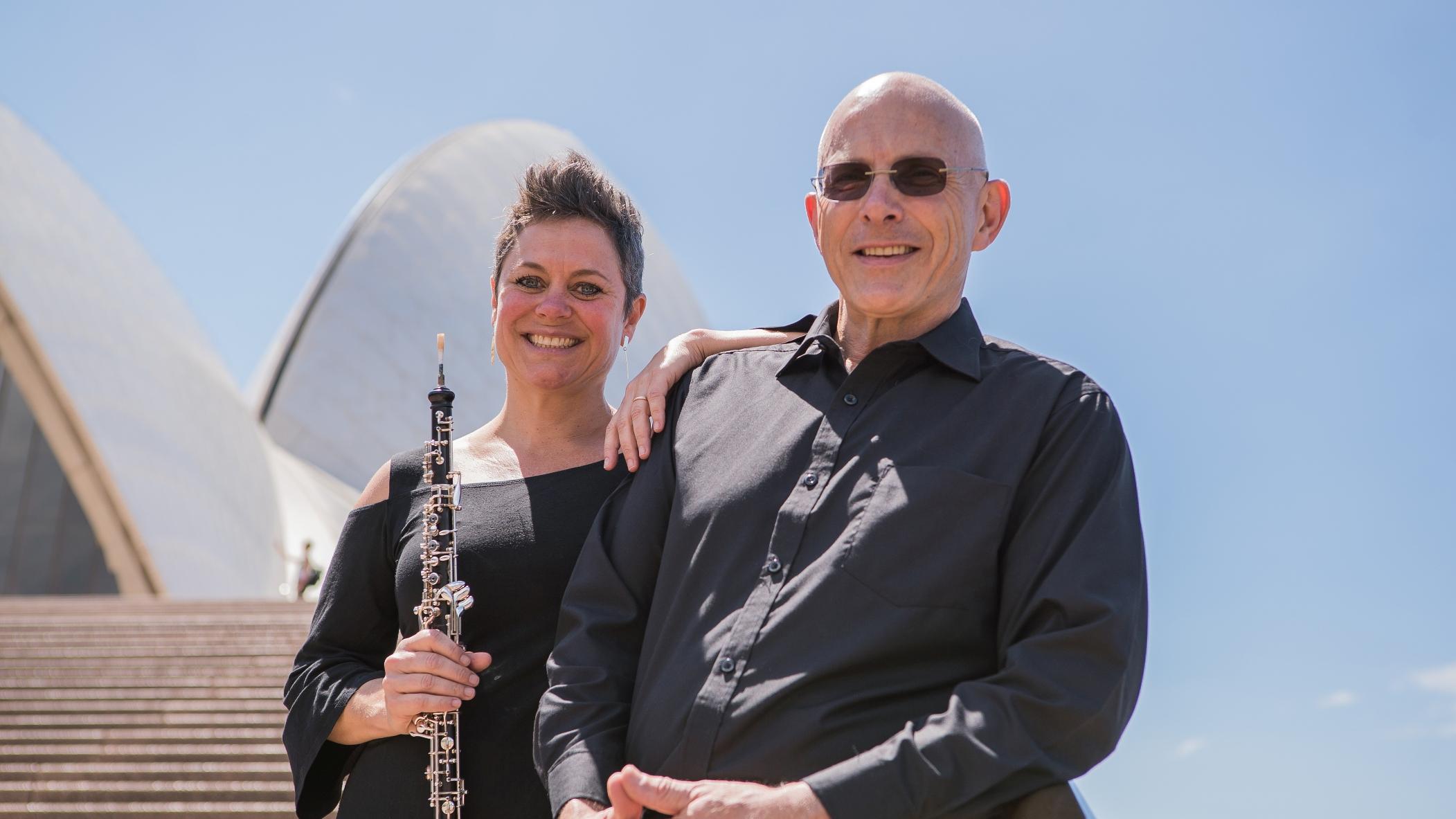Diana Doherty and Composer Nigel Westlake
