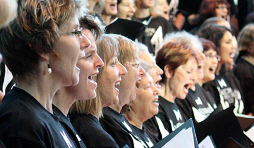 School of Hard Knocks No Excuses choir Image via  School of Hard Knocks