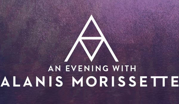 An evening with ALanis Morissette Sydney and Melbourne