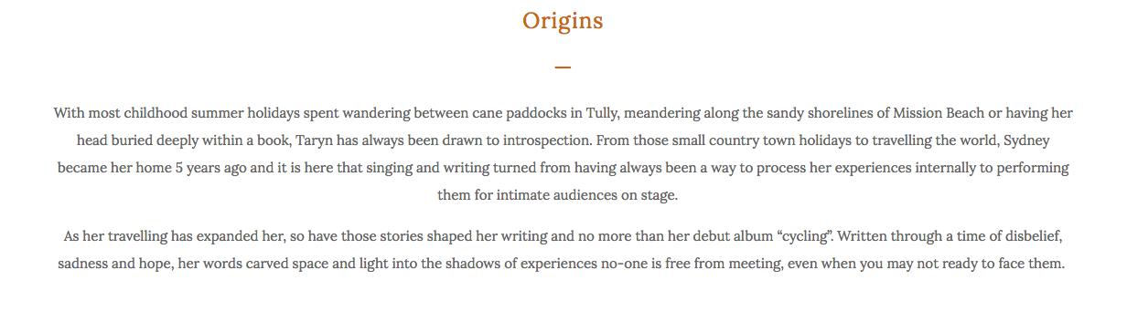 About Taryn La Fauci