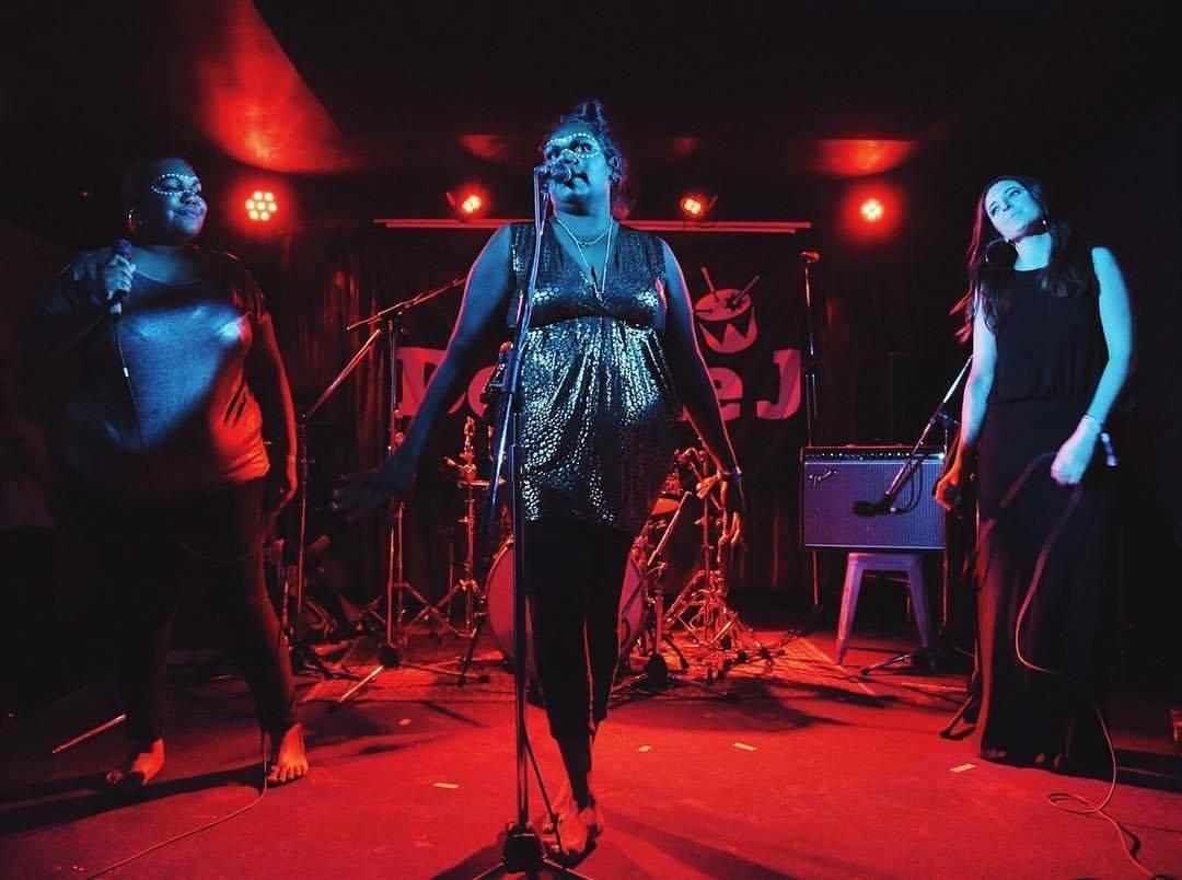 Kardajala Kirridarra perform at Bigsound 2017. Image Dave Kan via Double J