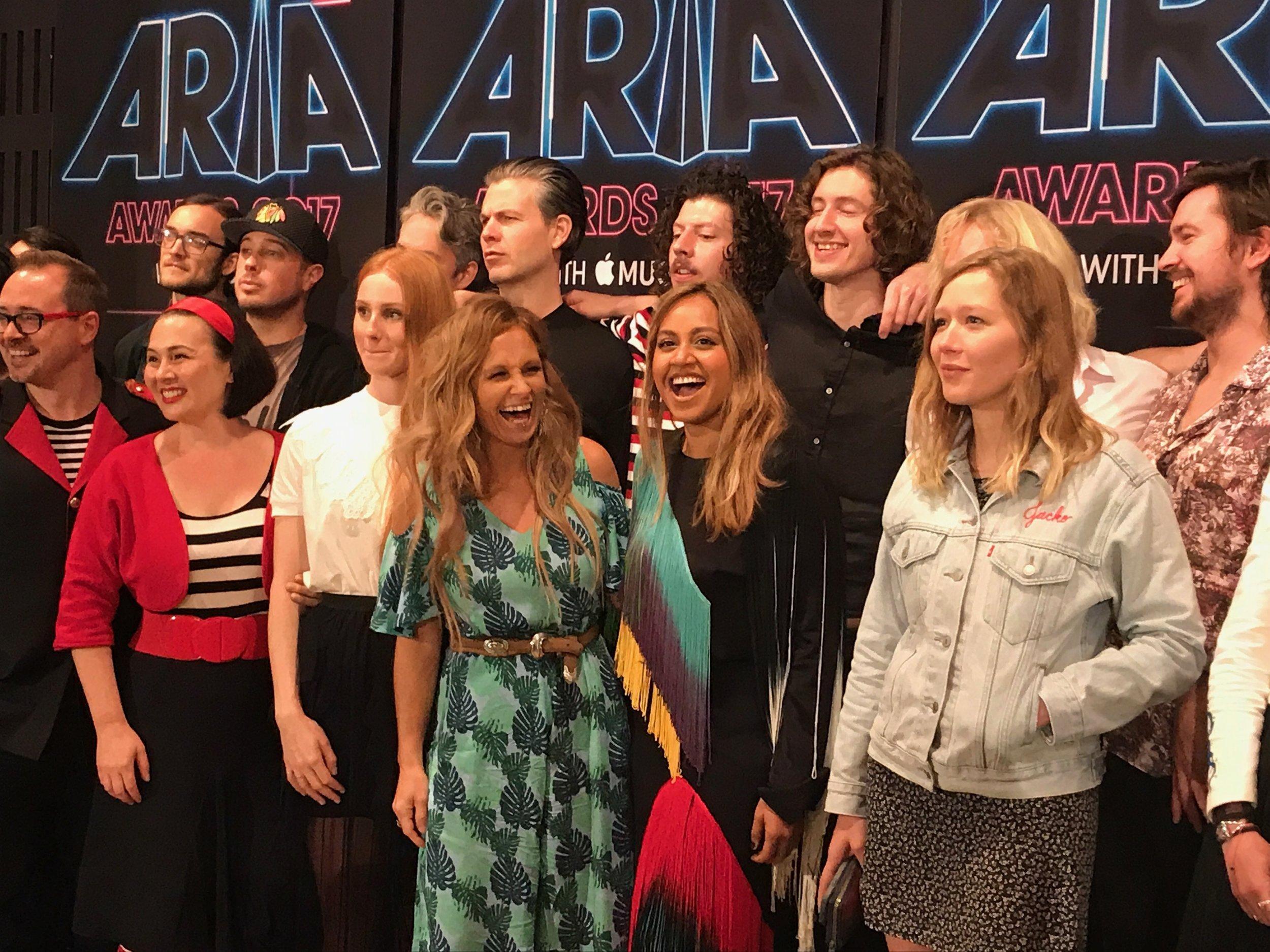 Arias 2017 nominees music love