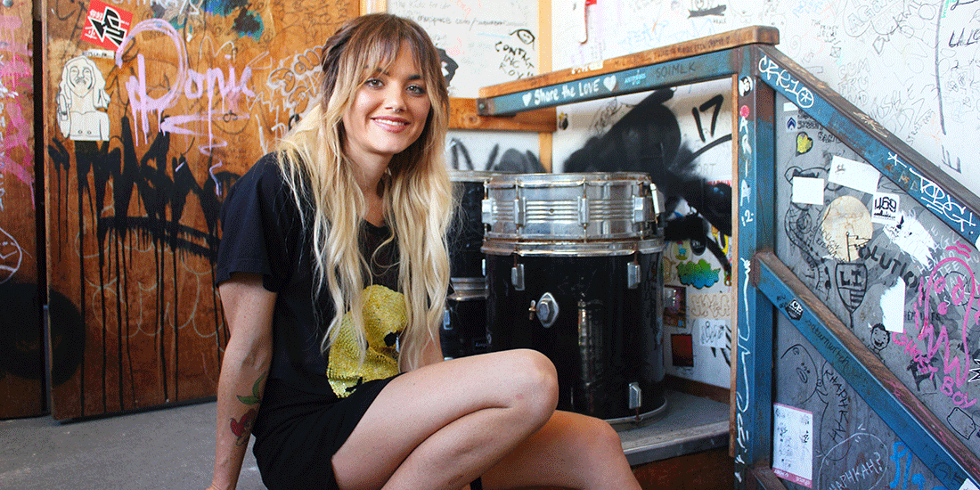 Pixie Weyand is up for The Industry Impact Award for her organisation FEED Music which feeds touring artists for free. Image: The Weekend Edition