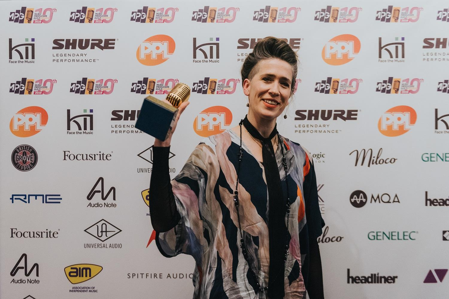Imogen Heap wins The MPG Award for Inspiration, image Jennifer McCord