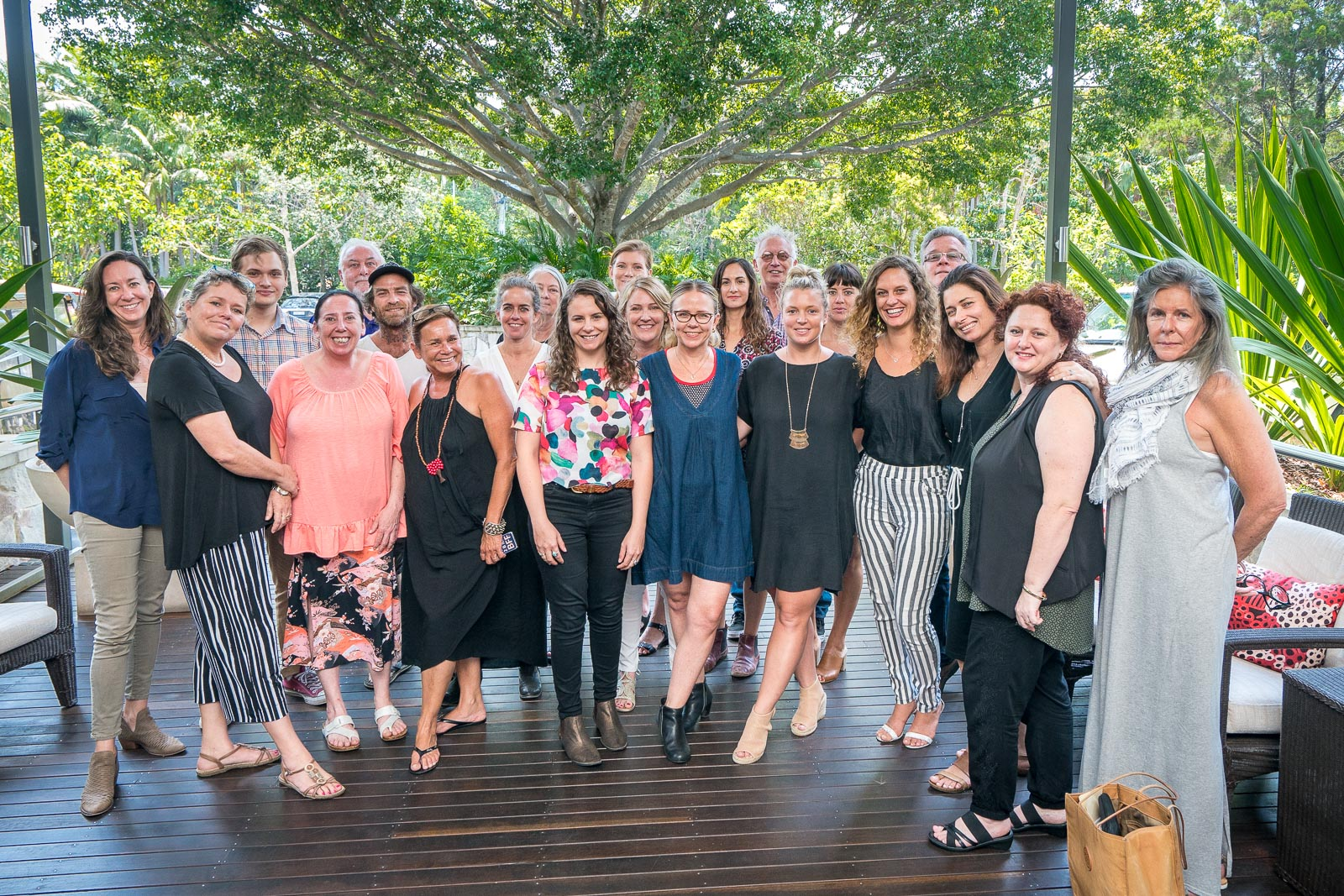 The Bluesfest team. Image supplied