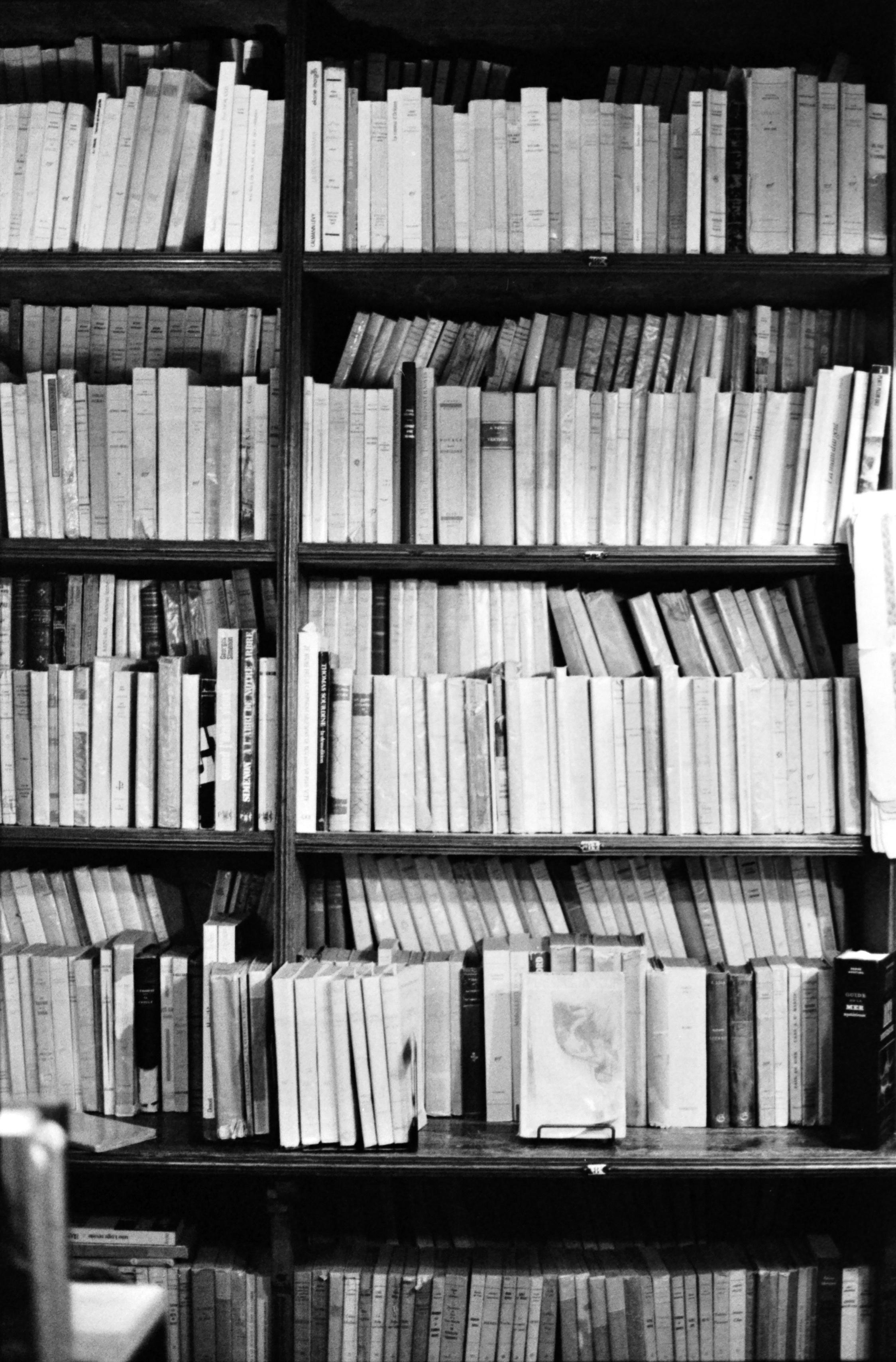 les livres, le sixième étage