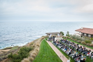 A beachside venue, just like a house on the ocean, will potentially cost more than an inland space.  Photo of Terranea Resort by Alma De Lumiere,